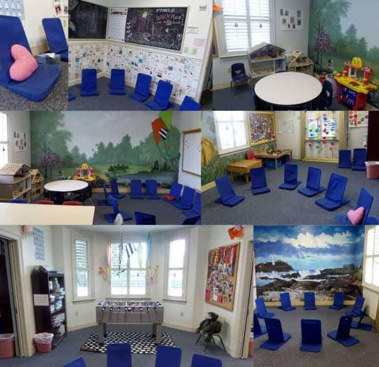 Children's Rooms Before