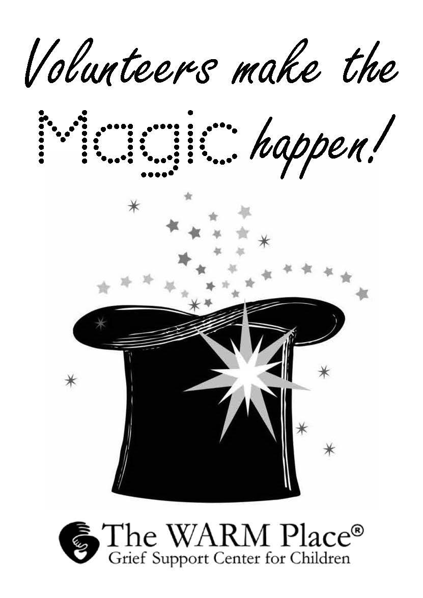 volunteers make the magic happen